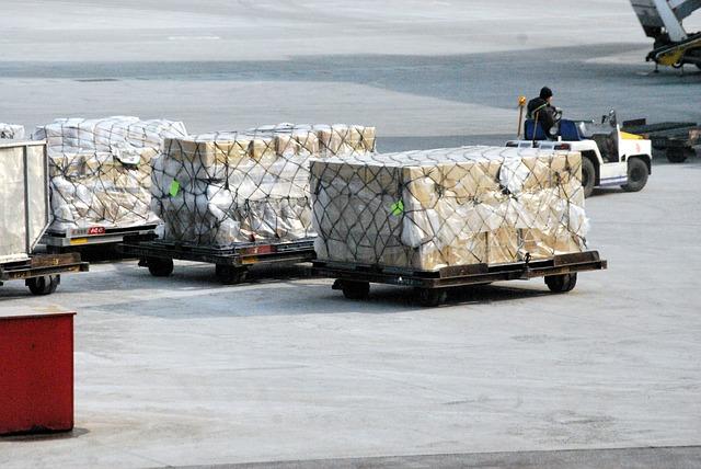 海外発送コンパクトな梱包で運送...